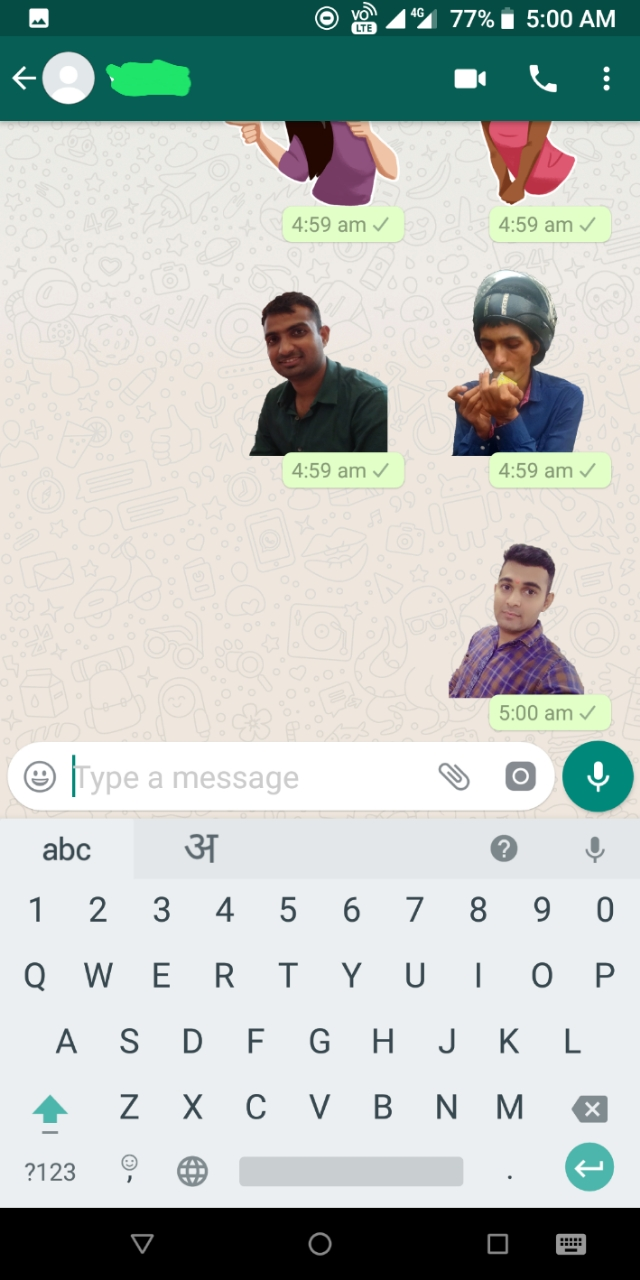 How to create and use your personal sticker for whatsapp