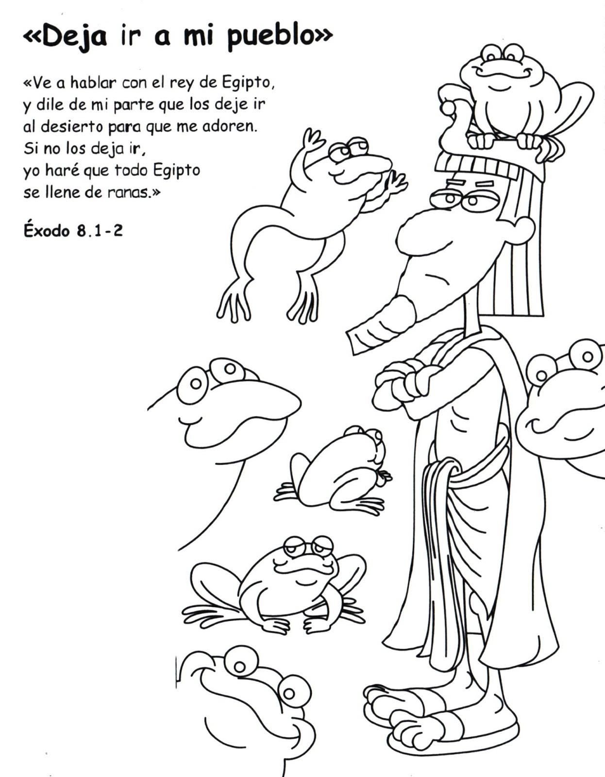 Dibujo De Faraon Para Colorear Dibujos Cristianos Para