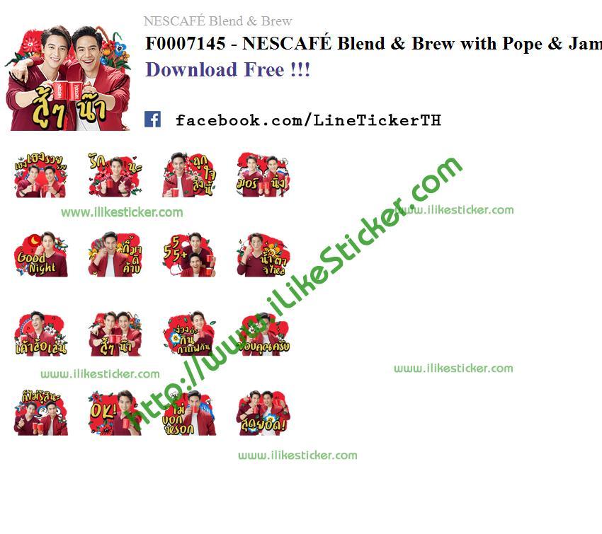 NESCAFÉ Blend & Brew with Pope & James