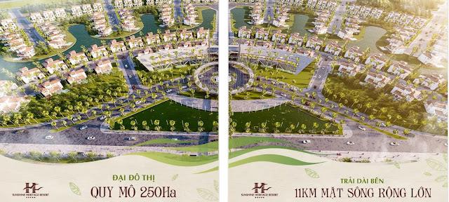 dự án biệt thự Sunshine Heritage Resort Phúc Thọ Hà Nội