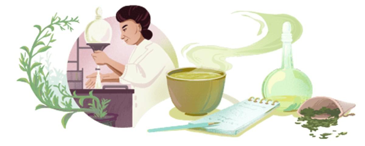 Michiyo Tsujimura , Google Doodle, Green Tea, Michiyo Tsujimura Birth Anniversary