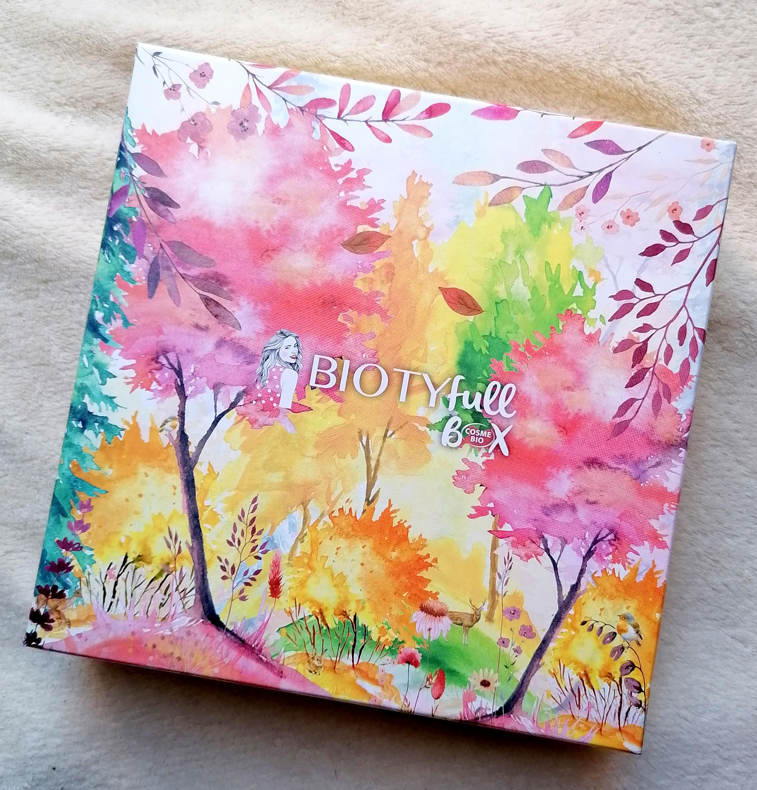 Ma Biotyfull Box d'Octobre : L'Unisexe 100% Cosmébio 🍃