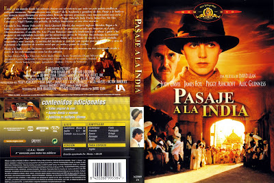 Carátula dvd: Pasaje a la India (1984) A Passage to India