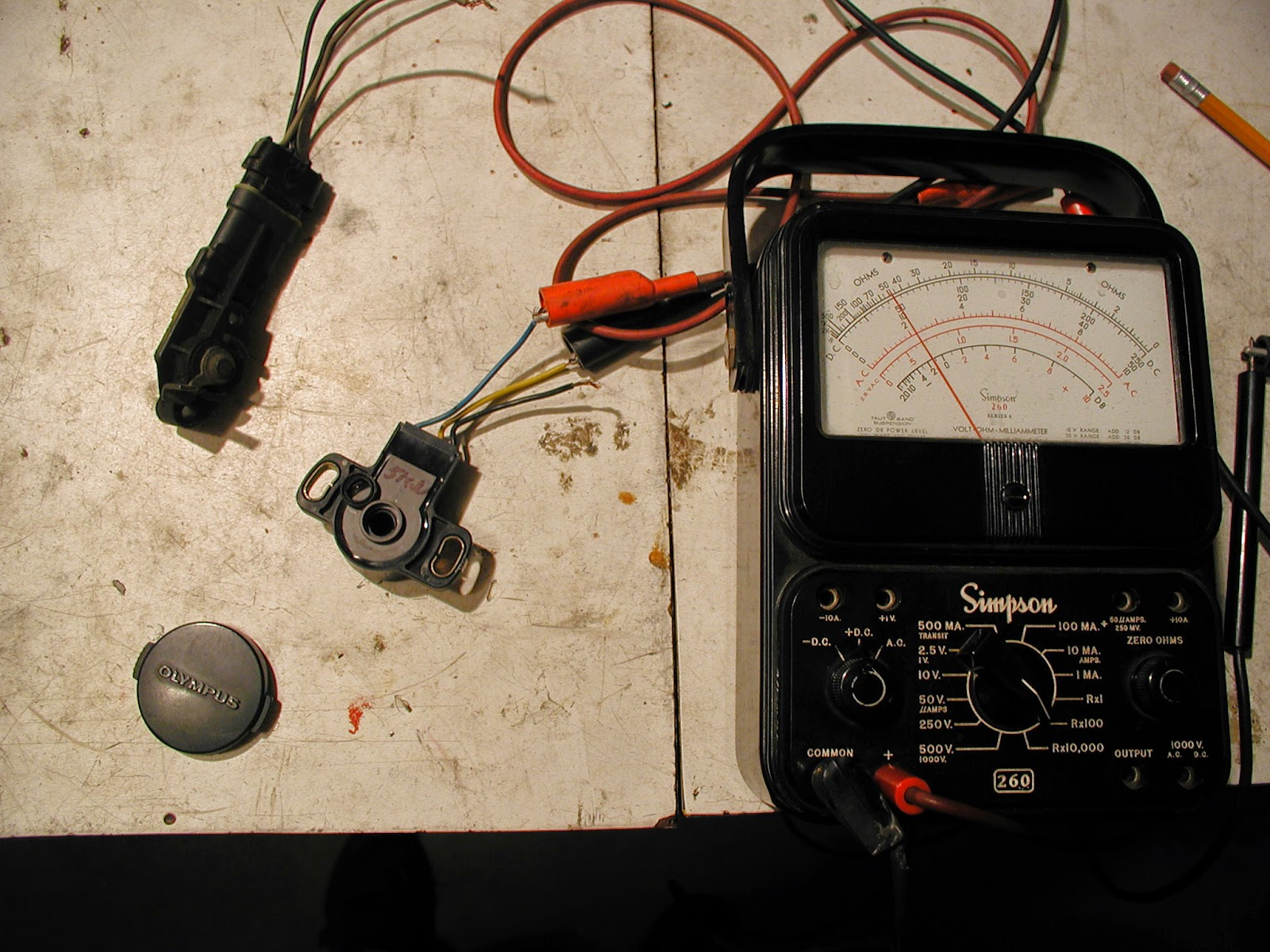 Wally&Sue: Onan gets a throttle position sensor, TPS for efi