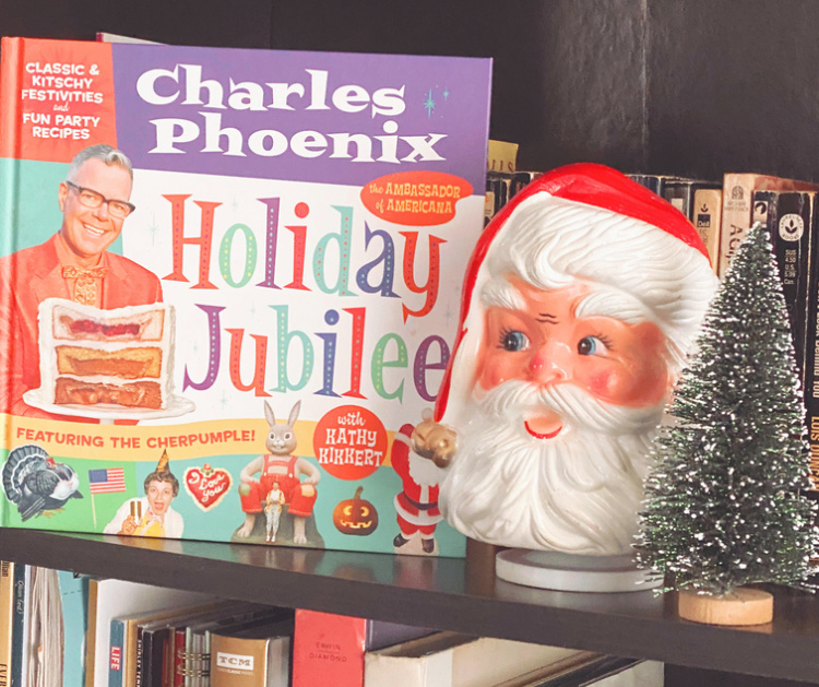 A Vintage Nerd, Vintage Blogger, Holiday Jubliee Book Review, Charles Phoenix, Retro Recipes, Retro Holidays, Retro Book Recommendation, Holiday Jubilee Book, Charles Phoenix