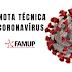 PANDEMIA: Famup emite nota técnica e recomenda que prefeituras criem Comitê de Gestão de Crise do coronavírus.