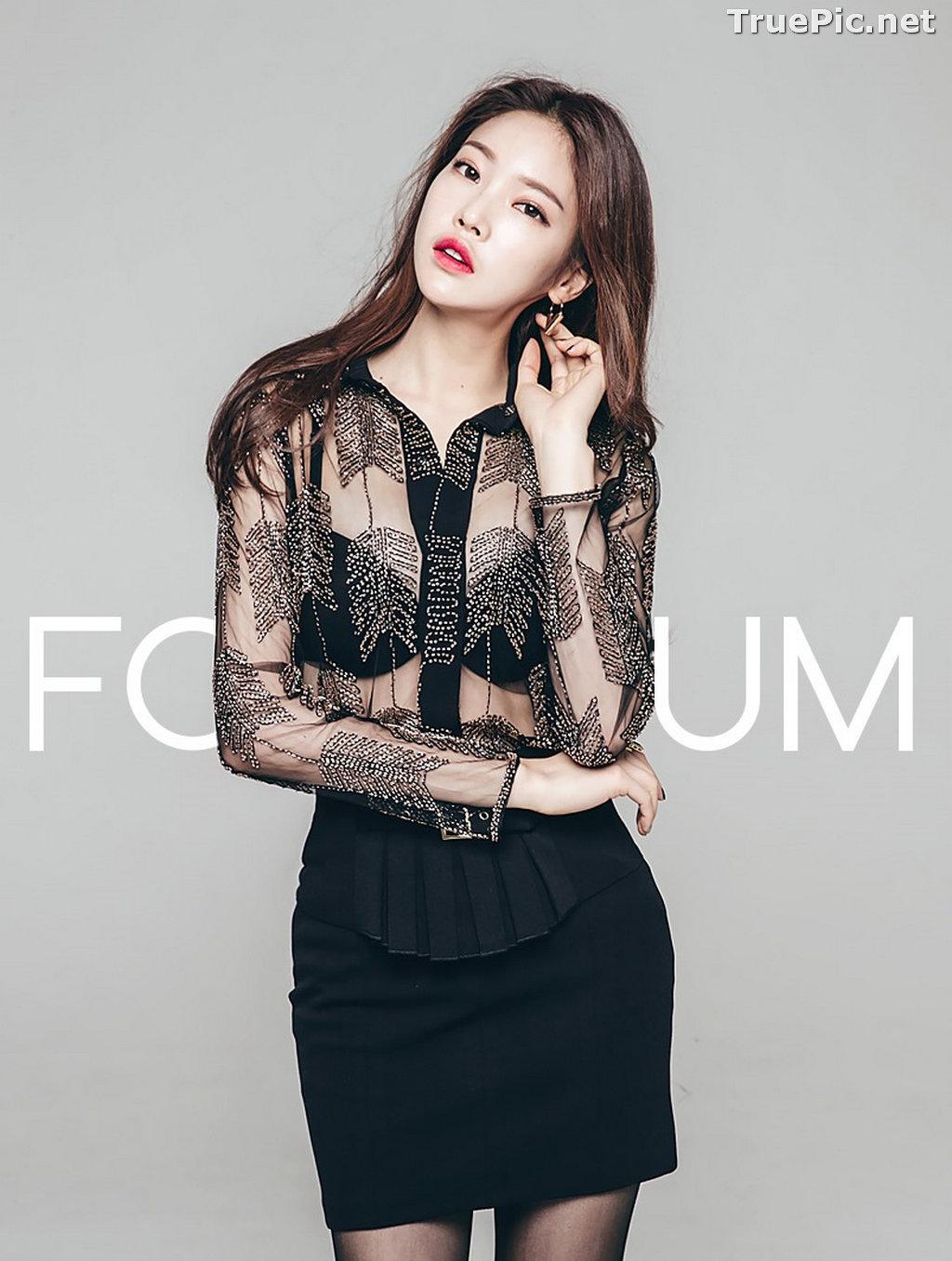 Image Korean Beautiful Model – Park Jung Yoon – Fashion Photography #11 - TruePic.net - Picture-43
