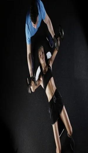 Best Exercises For Chest, flat dumbbell press