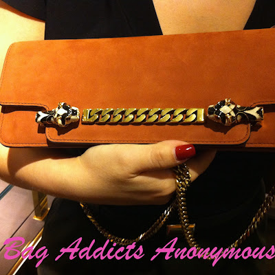 Gucci's Tiger Clutch from Spring/Summer 2012