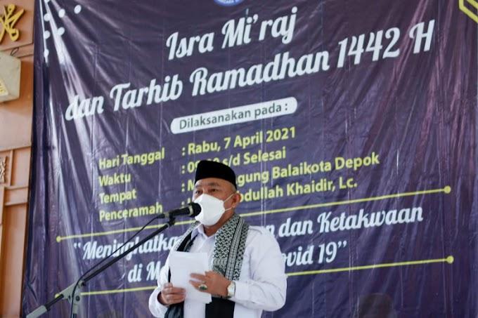Walikota Ajak Warga Berdoa Agar Pandemi Covid-19 Segera Berakhir