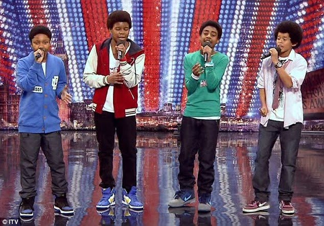 Teen four-piece New Bounce melt audience's hearts but divide the judges on Britain's Got Talent