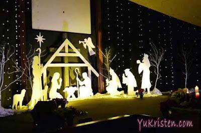 dekorasi natal gereja 1