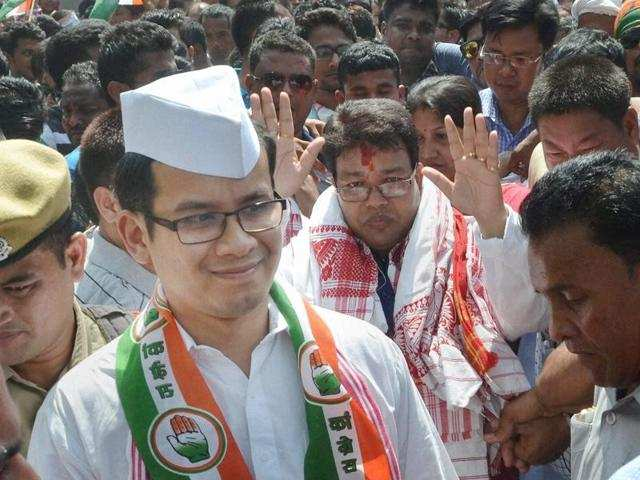 Congress MP Gaurav Gogoi