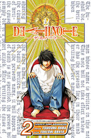 The second volume of the Death Note manga.
