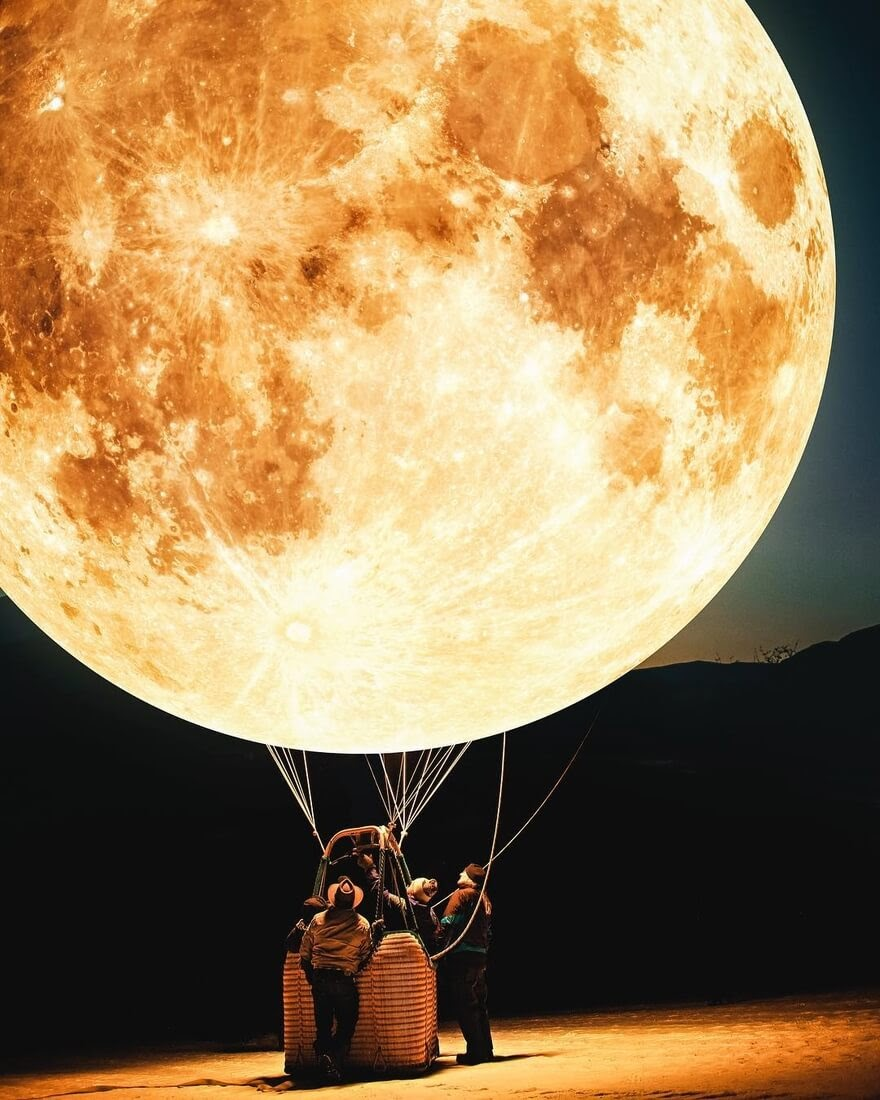 04-Moon-Balloon-Justin-Peters-Photoshop-makes-Surreal-Imagination-a-Reality-www-designstack-co