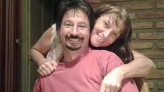 La foto que Miriam compartió en Facebook por el cumpleaños de su esposo. (Facebook Miriam Coppolillo)