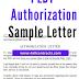 PLDT Authorization Letter Sample  | word doc