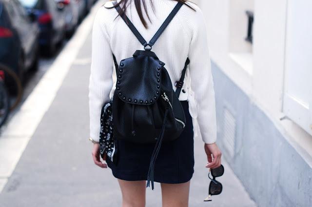 Explicit Affairs paris outfit black backpack