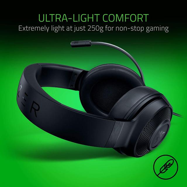 Razer Kraken X Ultralight Gaming Headset Review