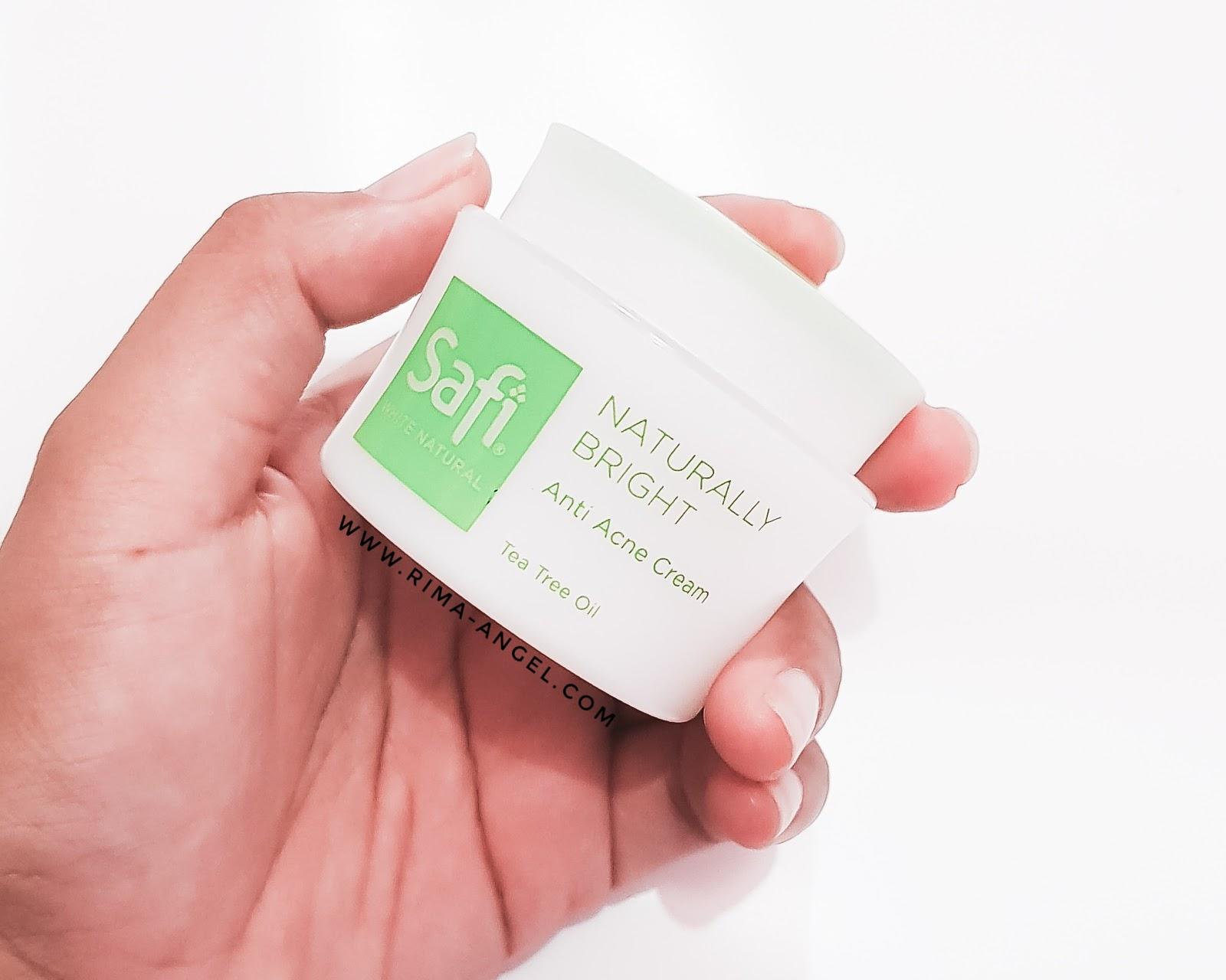 Review Safi Anti Acne Cream
