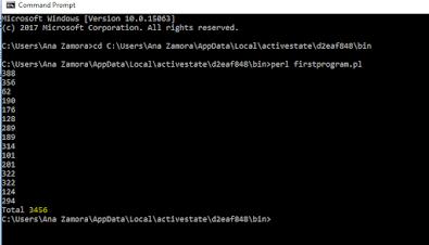 Programa en Perl para sumar montos de archivo CSV