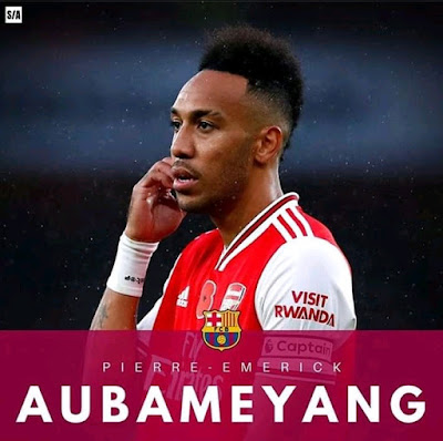 Arsenal Set To Make Free Agency Vow To Aubameyang As He Rejects New Contract (Read Details)