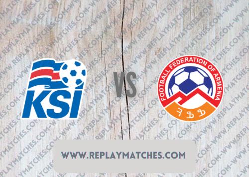 Iceland vs Armenia Highlights 08 October 2021