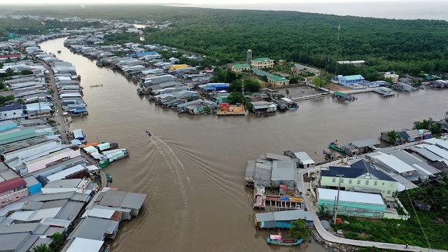 Cà Mau: Thử một lần đi xóm chợ cuối cùng nơi cực Nam Việt Nam: Dung dị, bình yên!