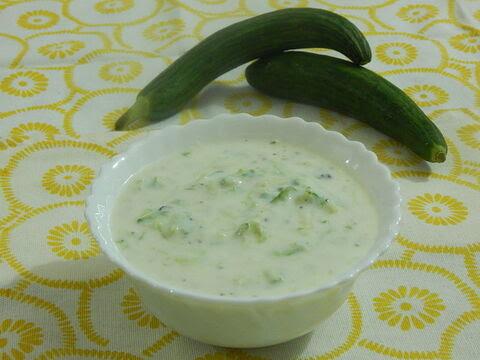 Cucumbur-raita-banane-ki-vidhi