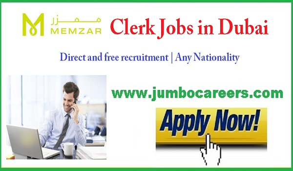 Recent vacancies in UAE, Current jobs in Dubai,