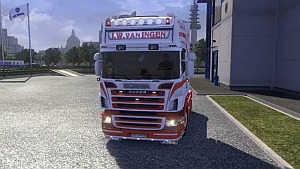 J.W van INGEN SCANIA + Interior + V8 Sound