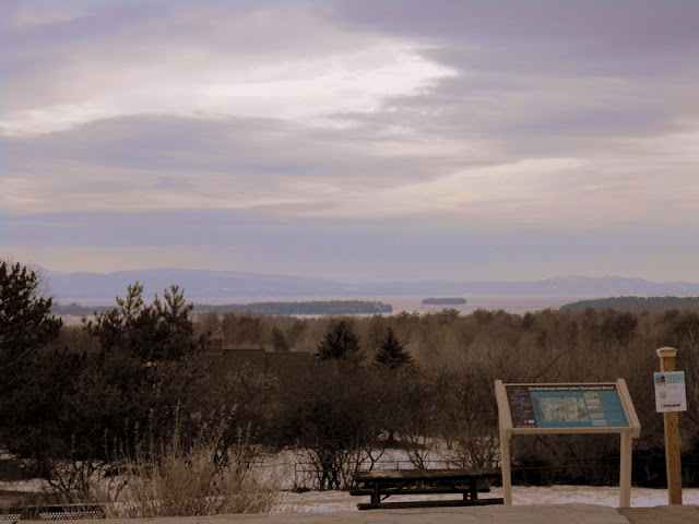 Lake Champlain view from Overlook Park