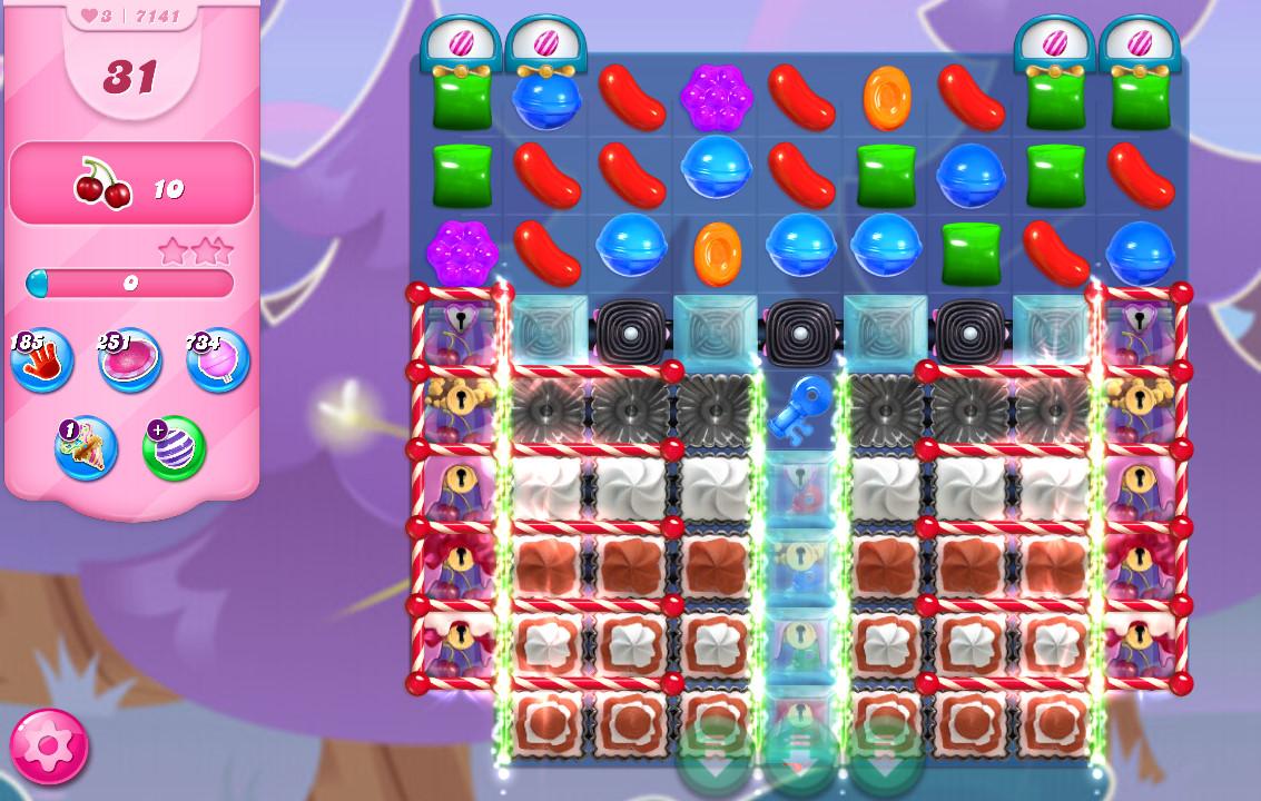 Candy Crush Saga level 7141