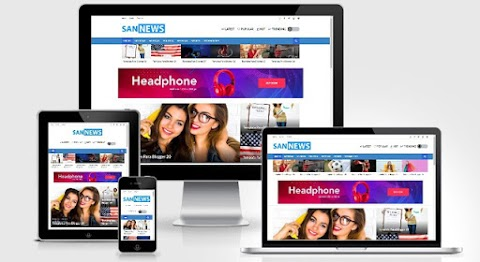 San News Template Para Blogger