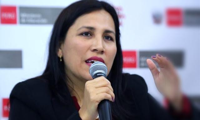 Ministra de Eduación, Flor Pablo