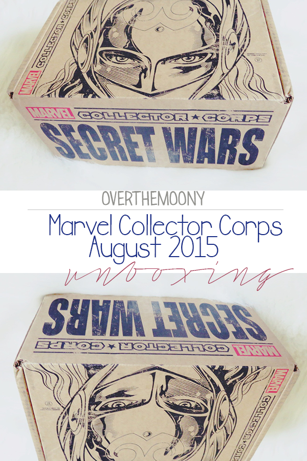 marvel collector corps unboxing