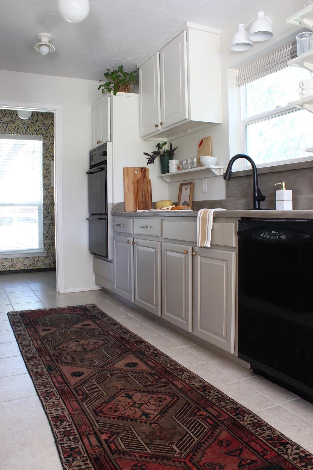 One room challenge budget kitchen makeover galley kitchen update | House Homemade