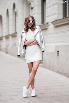 Vestidos con tenis adidas