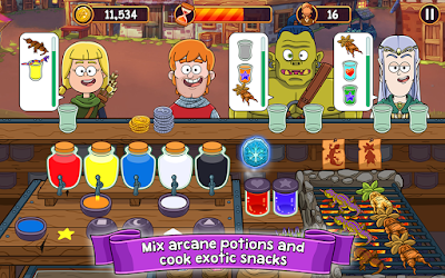 لعبة Potion Punch مهكرة للأندرويد، لعبة Potion Punch كاملة للأندرويد
