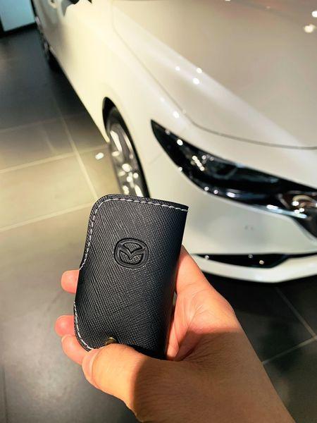 Mazda3鑰匙皮套