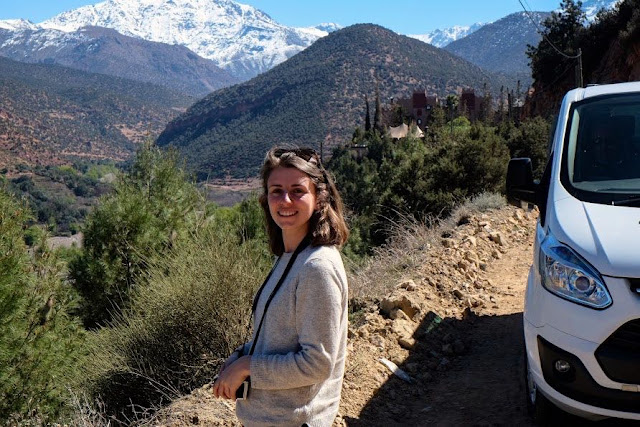 in atlas mountains Marrakech Photo Diary