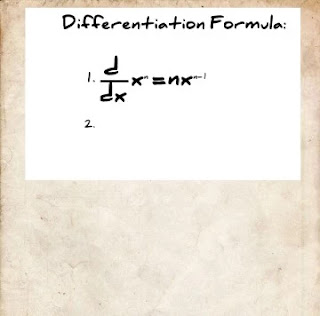 Differentiation Formula
