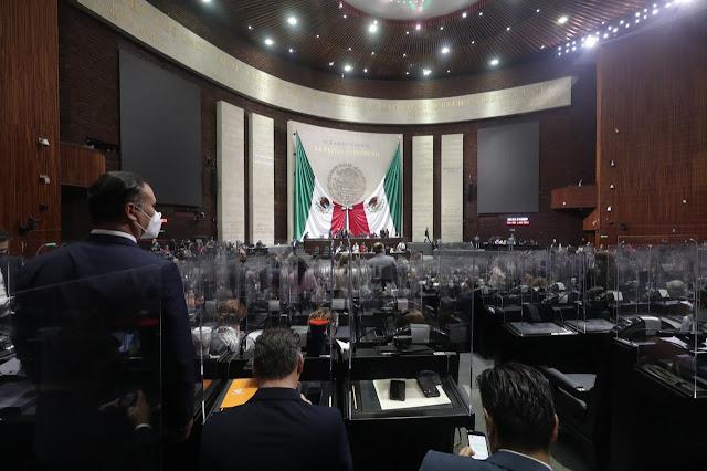 Diputados aprueban, en lo general, expedir la Ley Federal de Juicio Político y Declaración de Procedencia