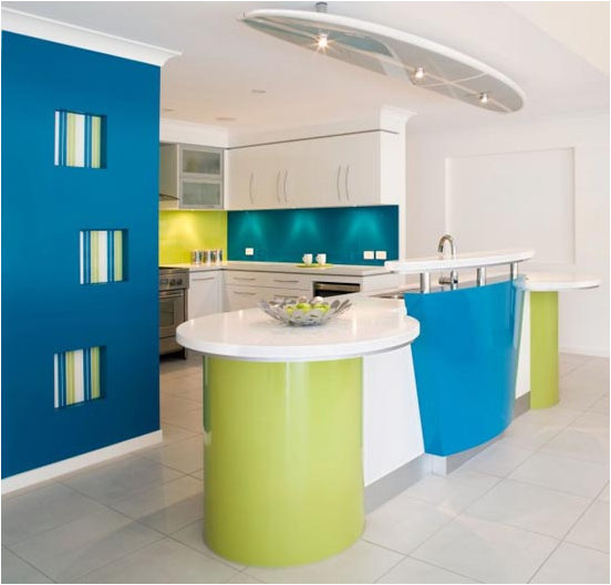 Blue And Green Kitchen6