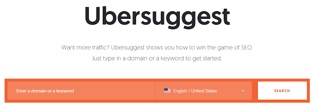 Ubersuggest-free-keyword-research-tool