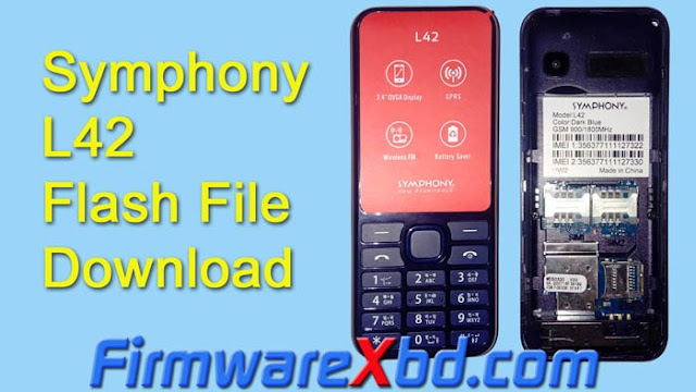 Symphony L42 Flash File Download HW2 6531E Without Password Firmware