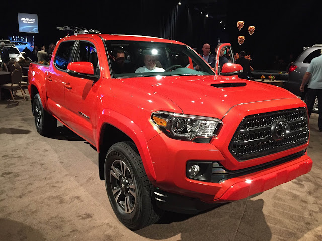 Toyota Tacoma in new color