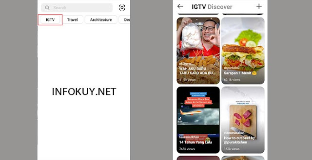 Cara Copy Link IGTV di HP #1