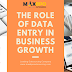 The role of data entry in business growth