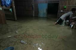 Musim Penghujan Datang, Banjir Hampiri Beberapa Desa di Kecamatan Grobogan